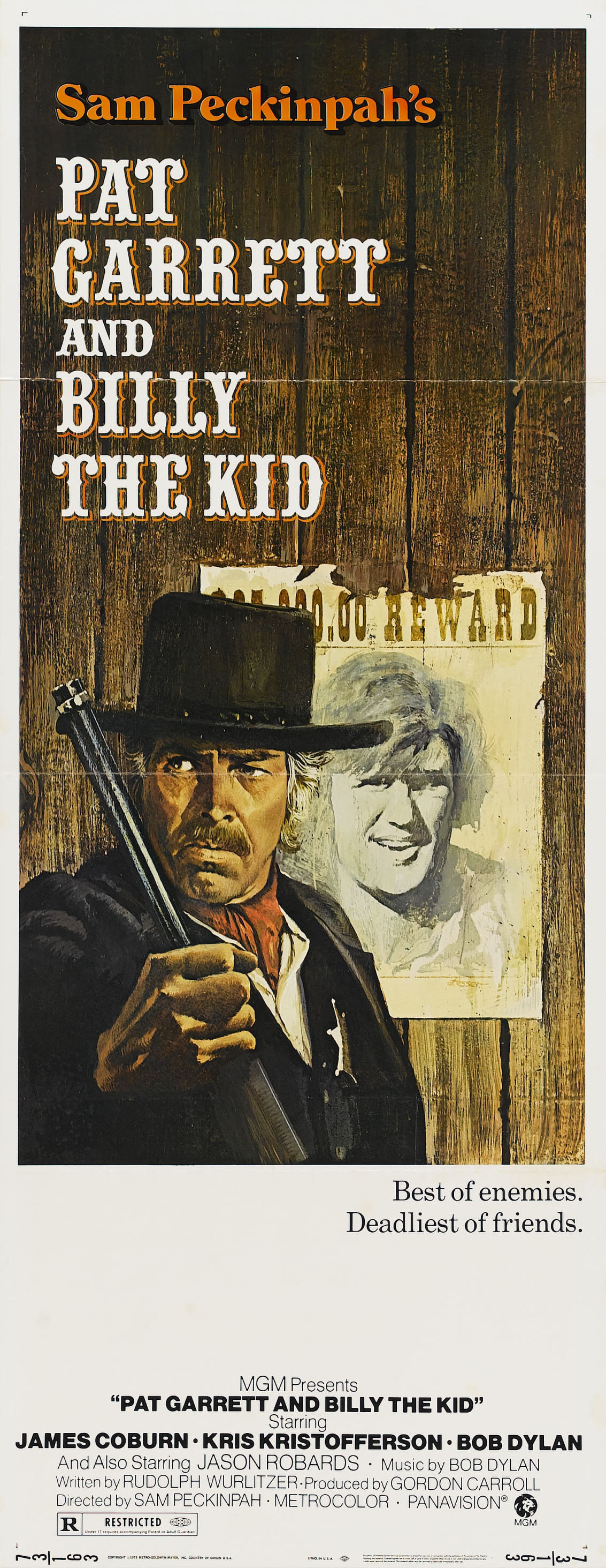 pat garrett et billy le kid 1973