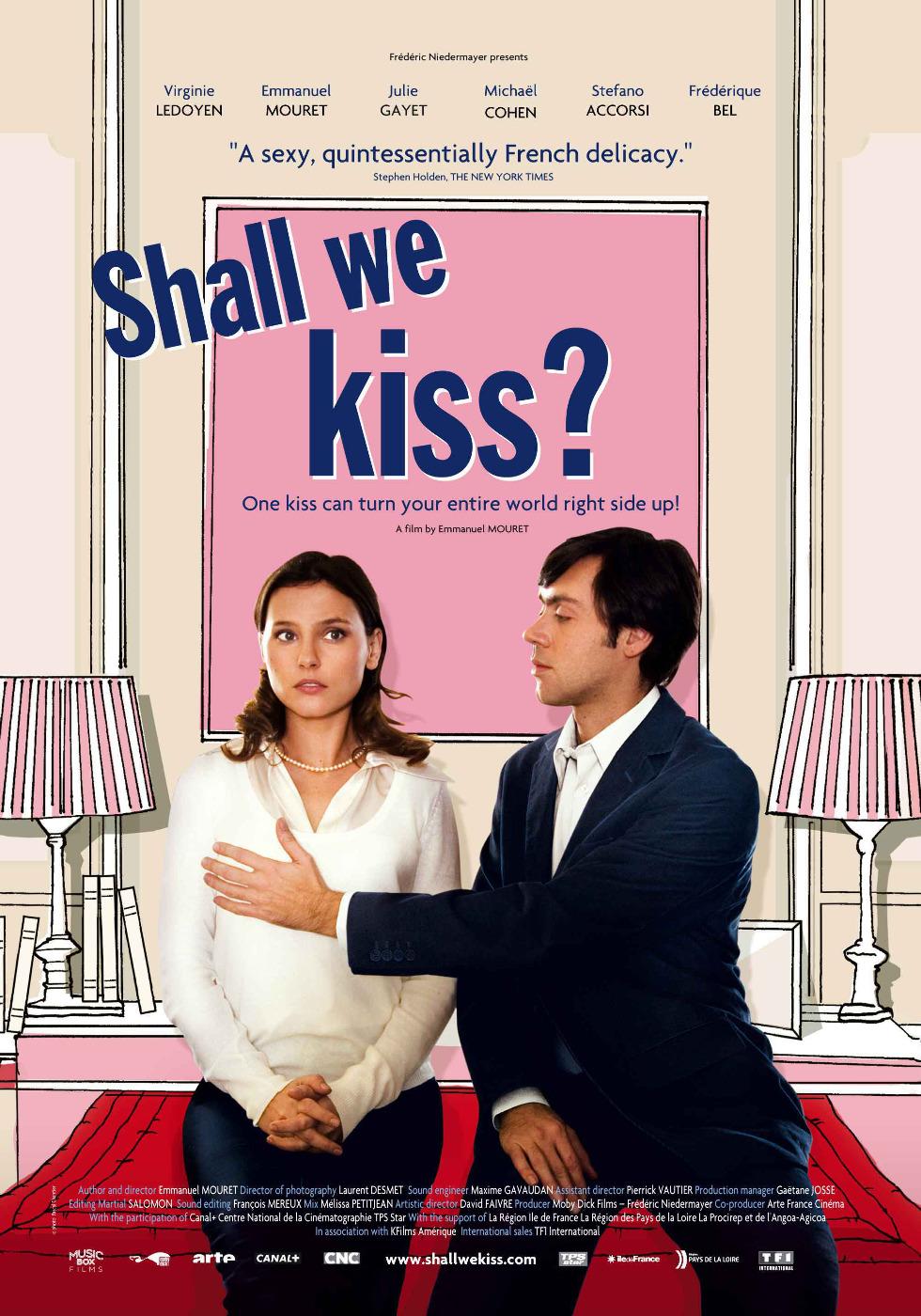 მოდი ვაკოცოთ ერთმანეთს (ქართულად) Un baiser s'il vous plaît / Shall We Kiss?