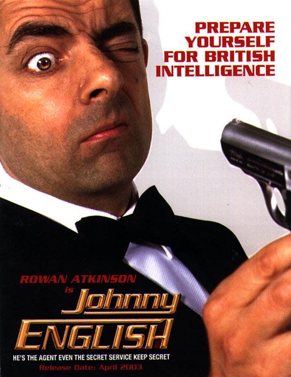 Johnny spoof spy movie