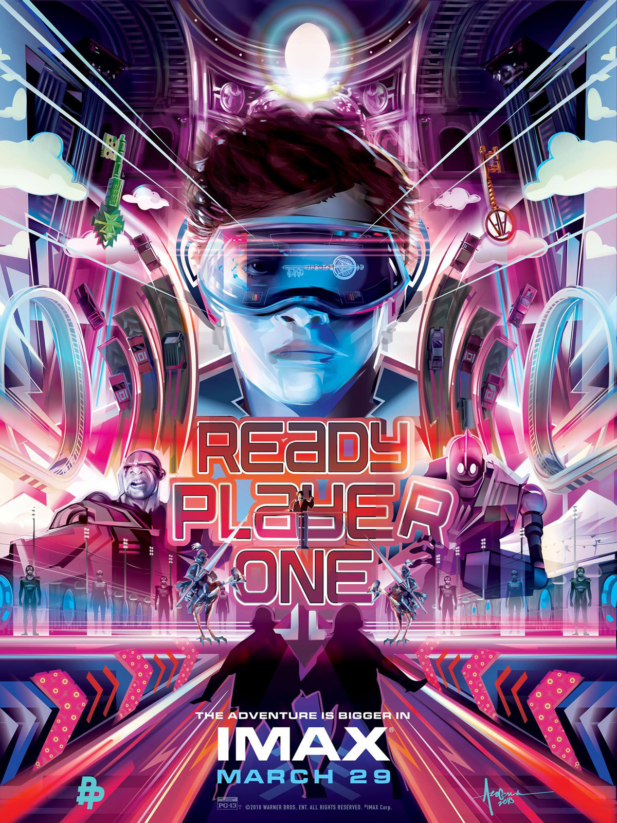 Jaquettes Dvd Et Blu Ray Du Film Ready Player One