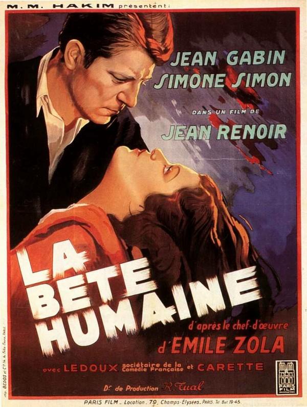 La Bete Humaine 1938 La bete humaine  film 1938  La