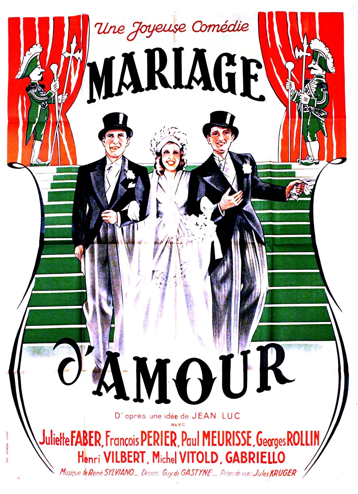 affiche du film mariage damour - Film De Mariage