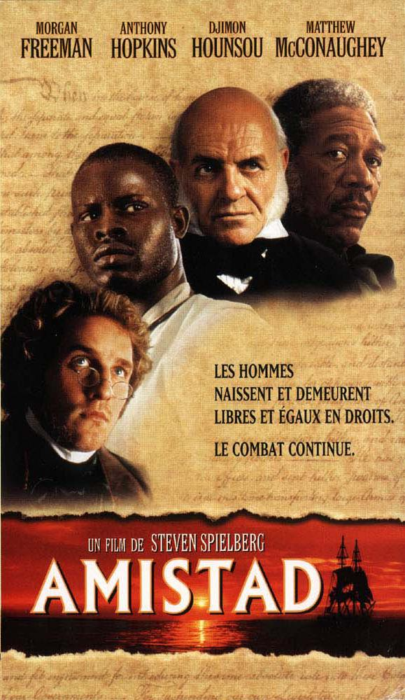 a report on amistad a film by steven spielberg Get biography information about steven spielberg meanest spielberg film in years, minority report proved beyond a helmed amistad, a film based on a real.