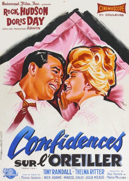 confidences sur l oreiller Confidences Sur l'oreiller [film 1958] confidences sur l oreiller