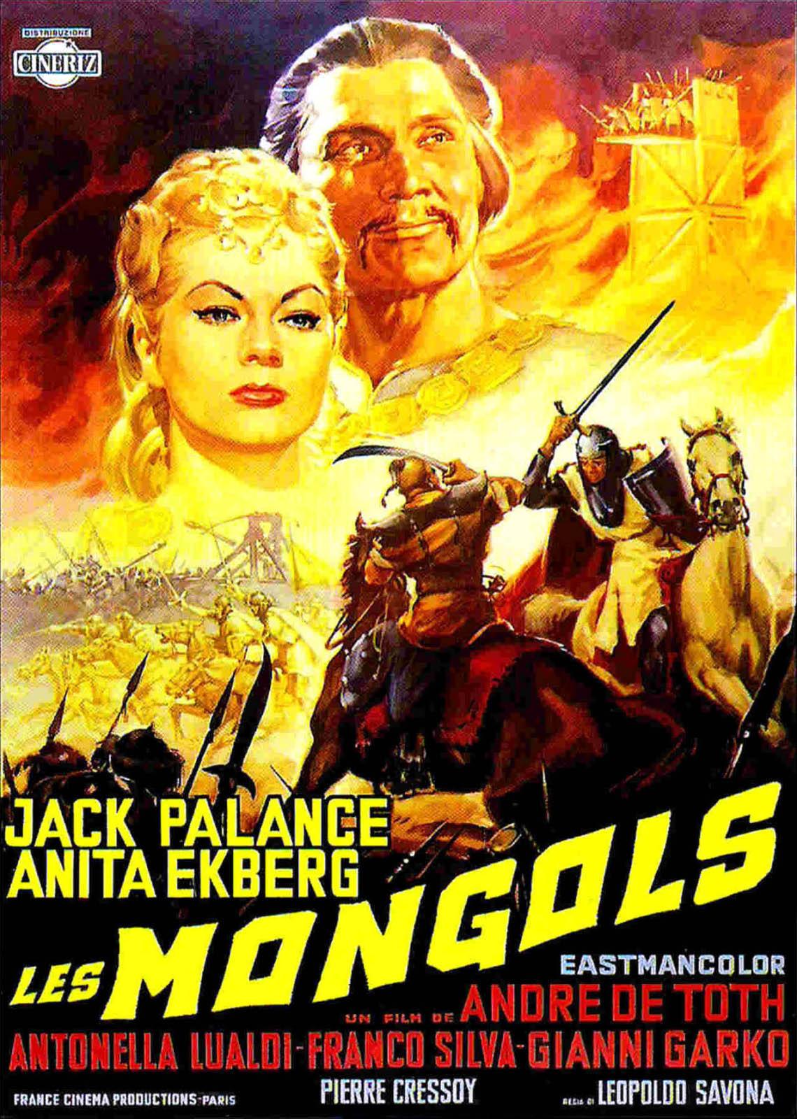 Jack Palance Filmes Delightful du film les mongols