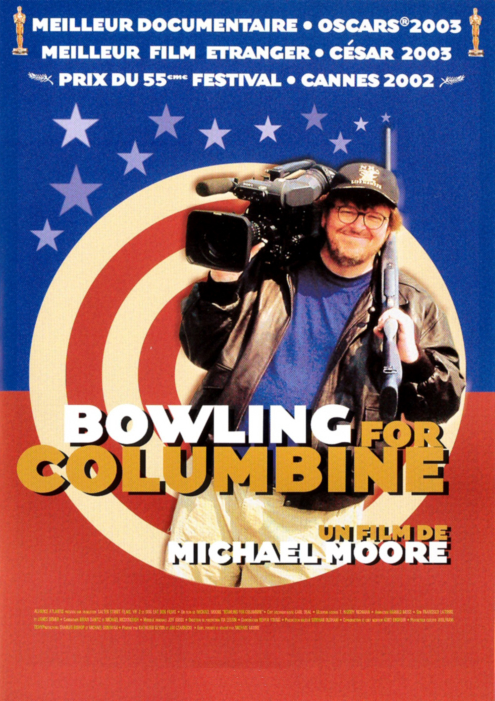 an analysis of the movie bowling for columbine by michael moore