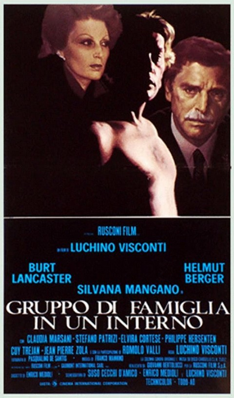 D��tails du Torrent Violence et passion 1974 - Luchino Visconti.