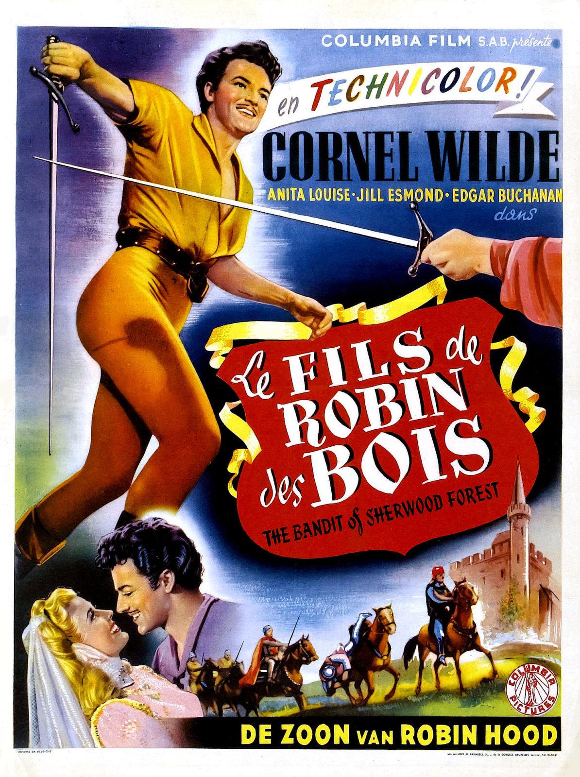 Le Fils de Robin des Bois [film 1946] ~ Robin Des Bois Le Film