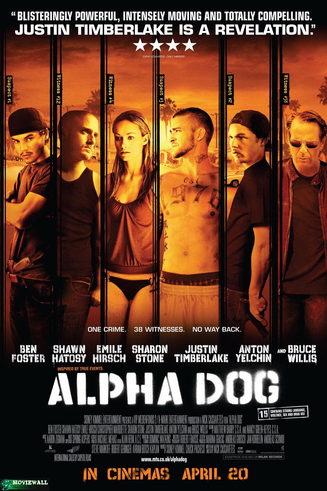 Frankie Ballenbacher with alpha dog [film 2006]