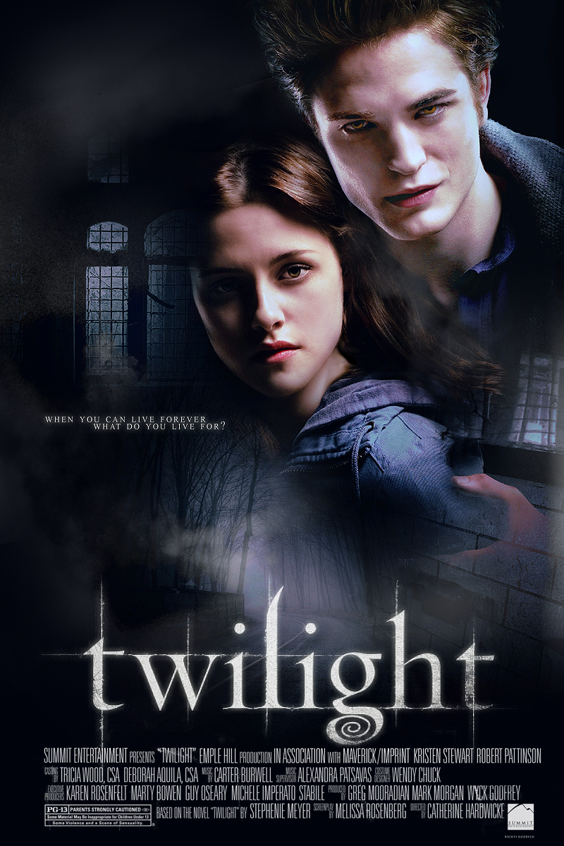 Affiche du film Twilight