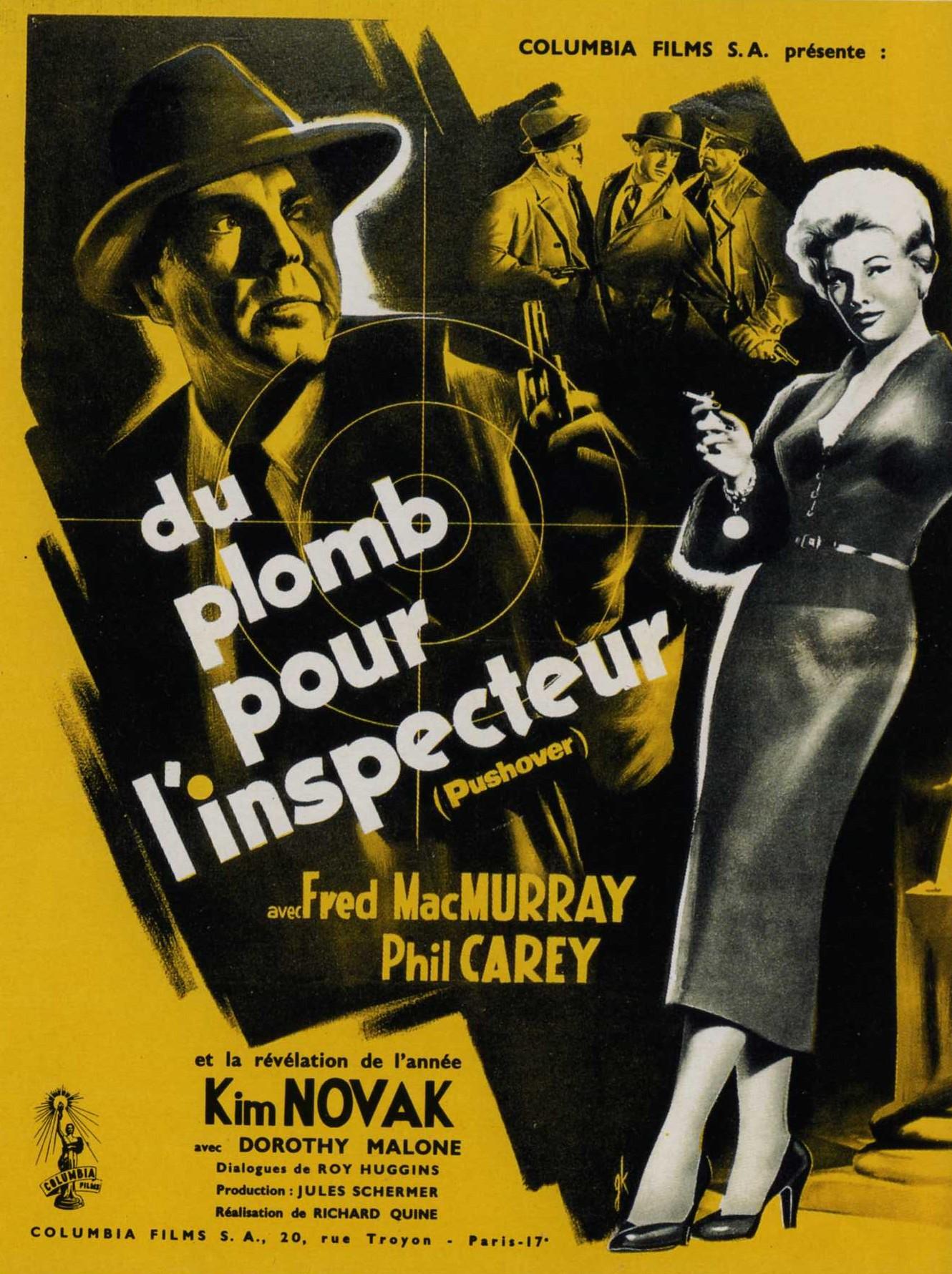 Du Plomb pour L'Inspecteur - Pushover - 1954 - Richard Quine 46194