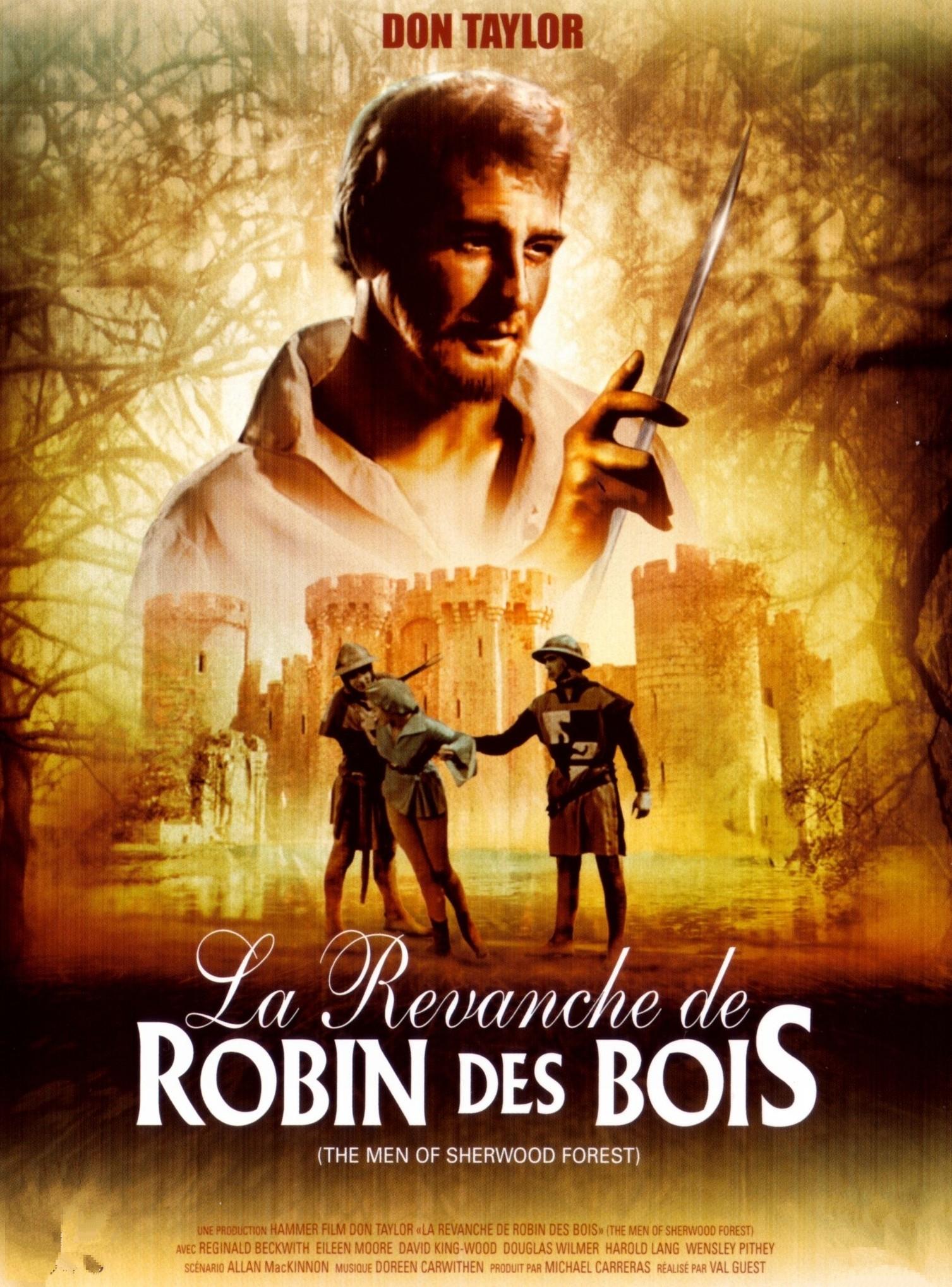 La Revanche de Robin des Bois [film 1954] ~ Robin Des Bois Le Film