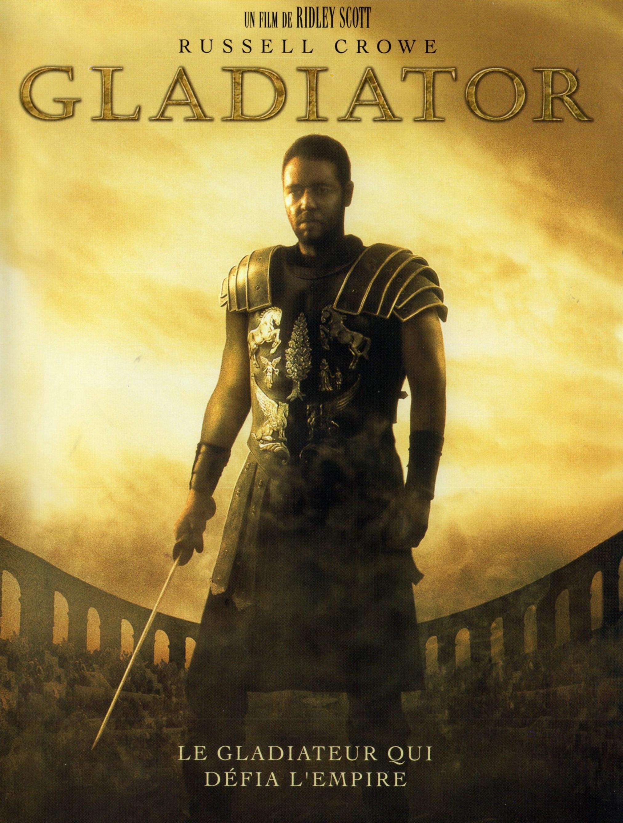 Gladiator (2000) affiche