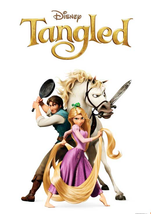 Tangled Movie (2010) Poster