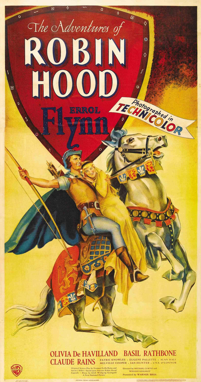 Affiche du film Les aventures de Robin des Bois ~ Robin Des Bois Le Film