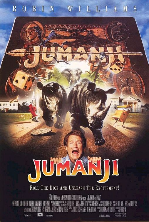 affiche film Jumanji