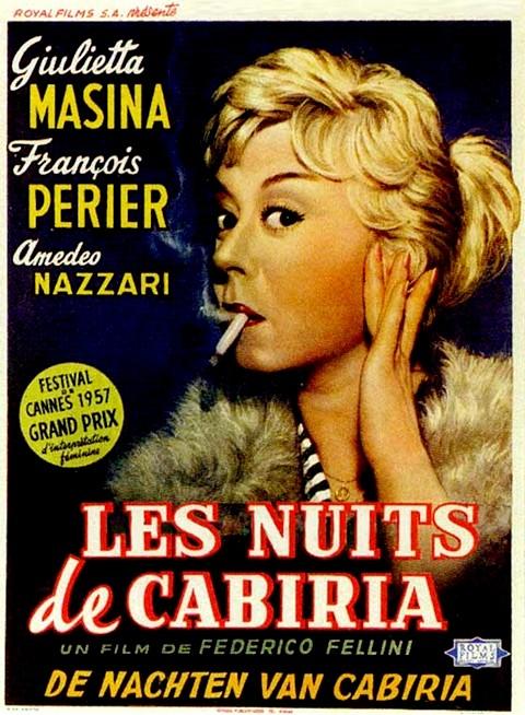 """Résultat de recherche d'images pour """"LES NUITS DE CABIRIA"""""""