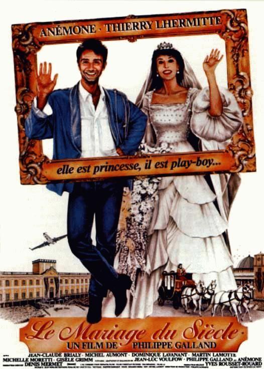 affiche du film le mariage du siecle - Film De Mariage