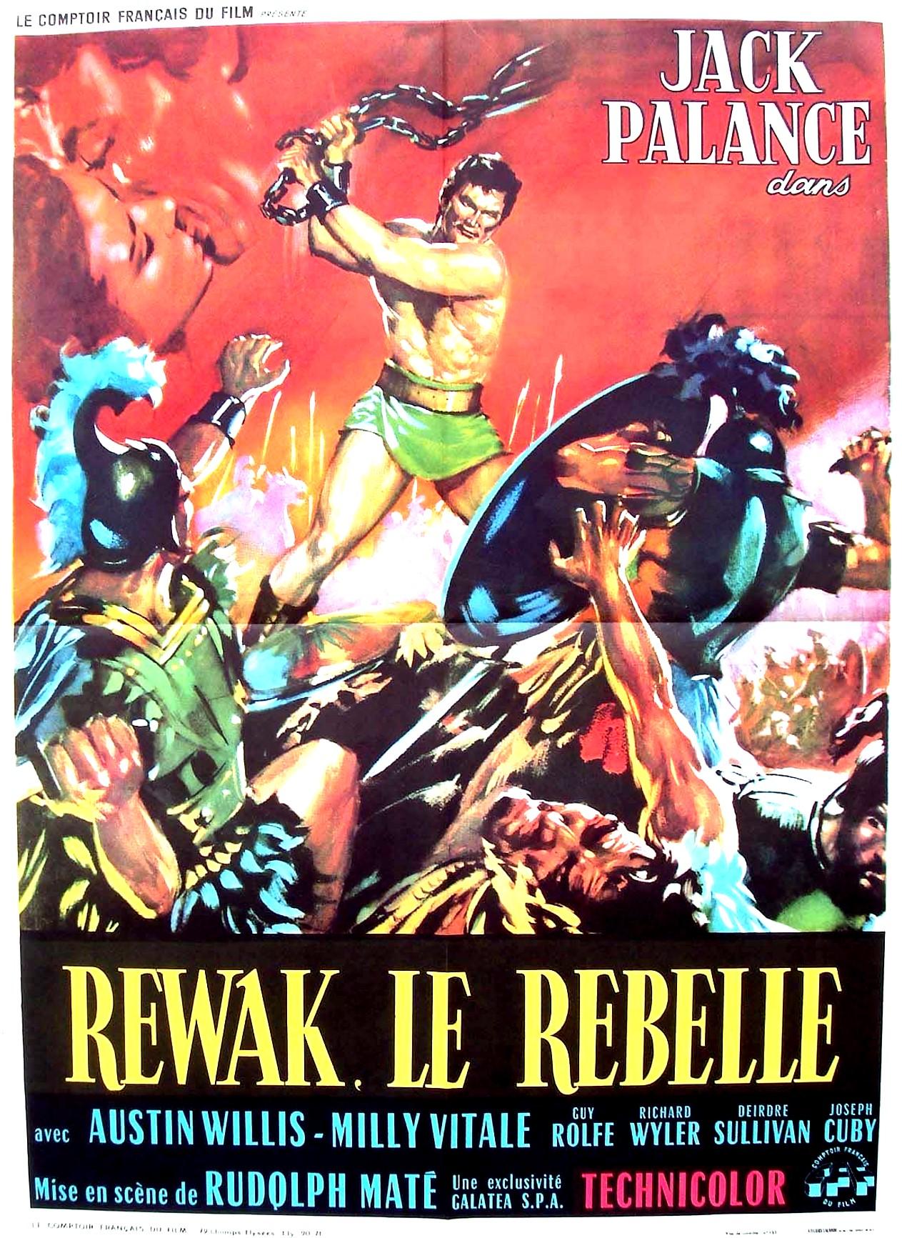 Jack Palance Filmes Delightful du film rewak le rebelle