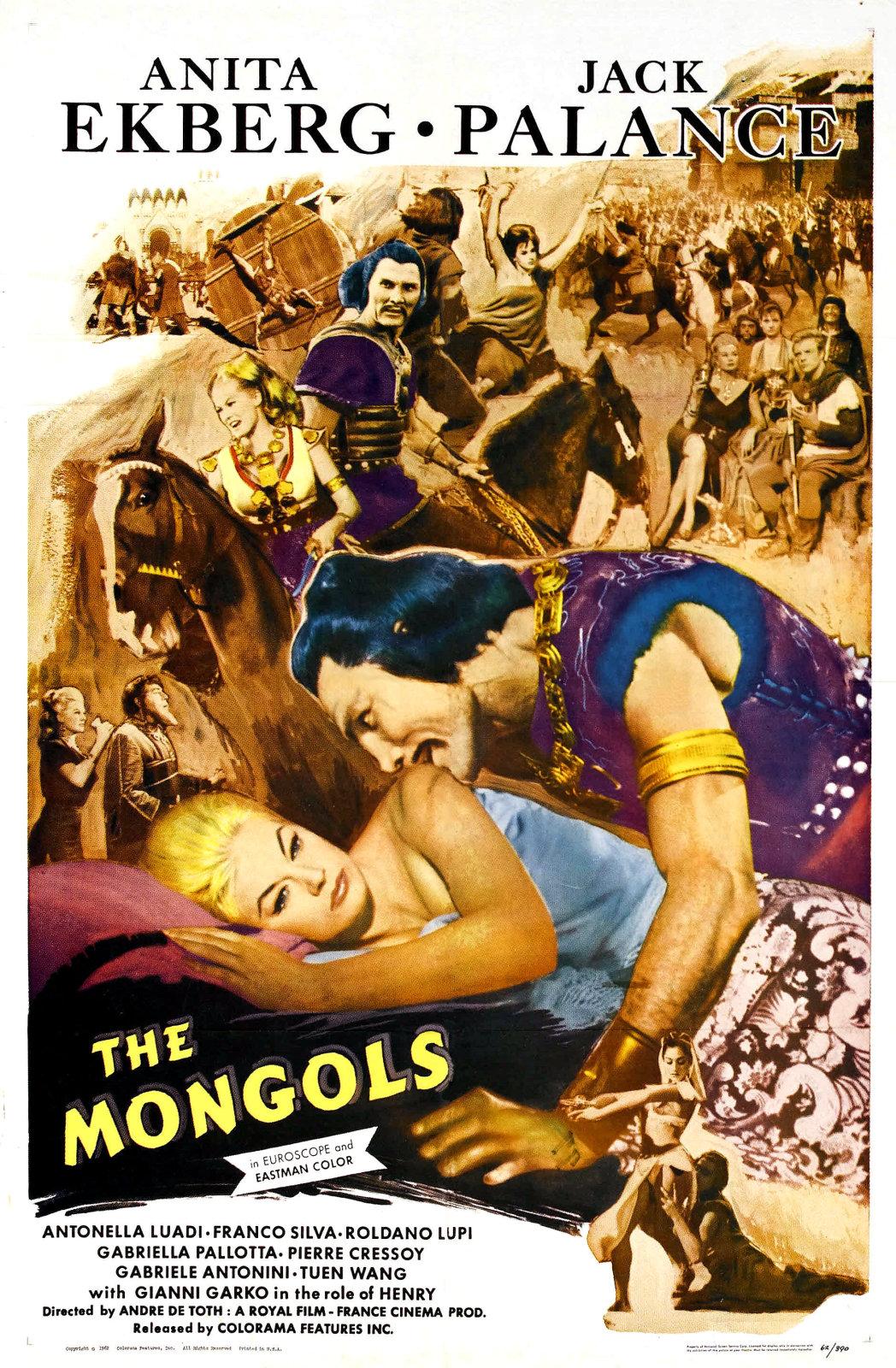 Jack Palance Filmes Complete du film les mongols