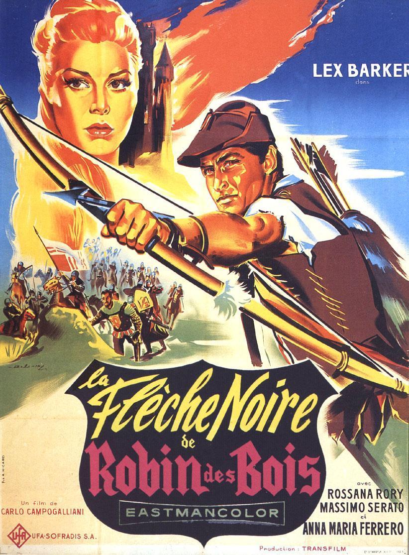 La flèche noire de Robin des Bois [film 1958] ~ Robin Des Bois Le Film