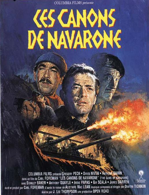 le film les canons de navarone