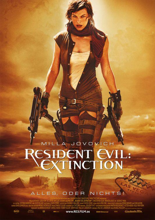 Resident Evil : Extinction affiche