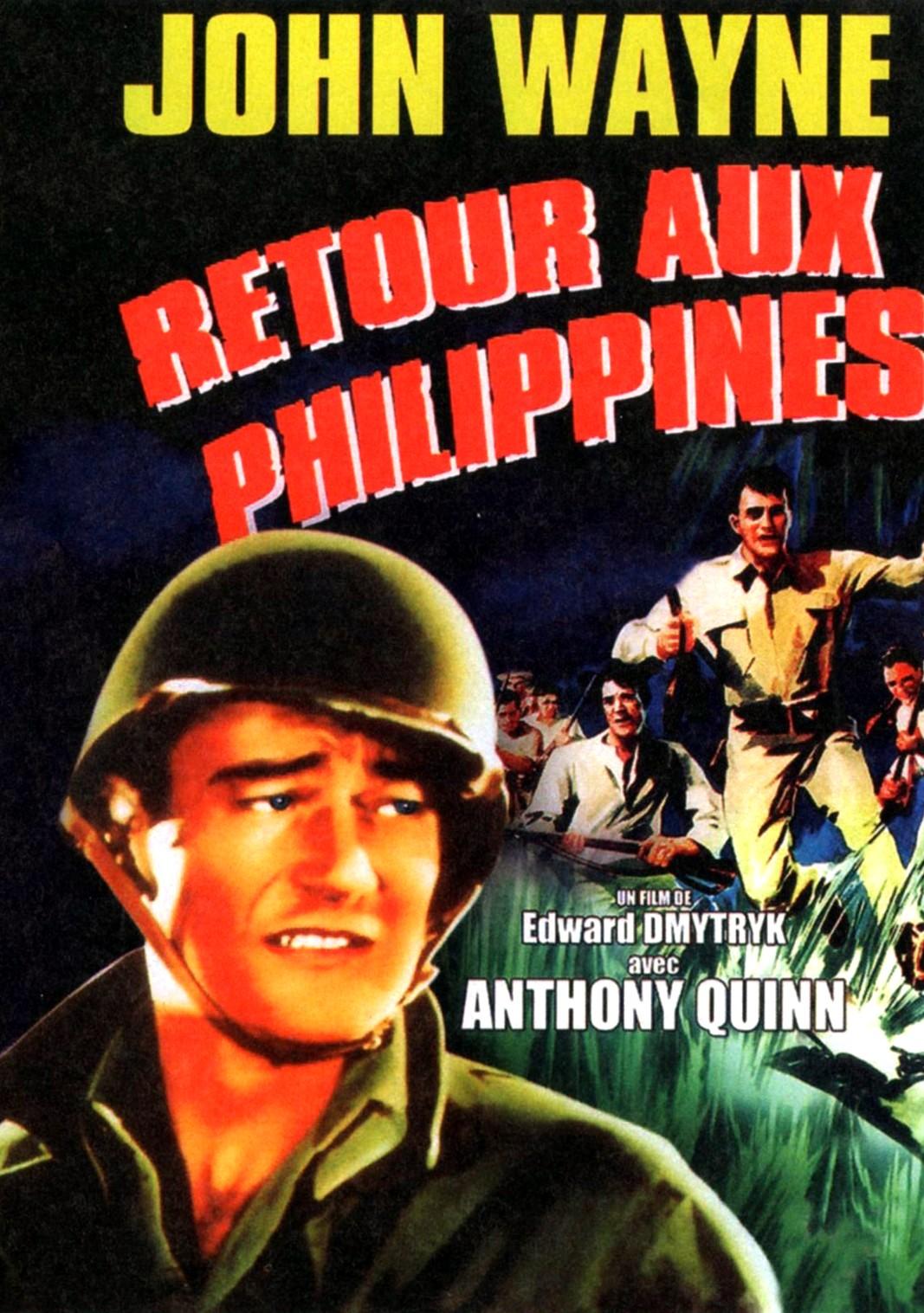 Retour aux Philippines  1945