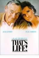 Affiche du film That's life