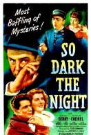 Affiche du film So dark the night