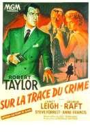 Affiche du film Sur la Trace du Crime