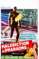 Affiche du film La malediction des pharaons