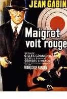 Affiche du film Maigret voit rouge