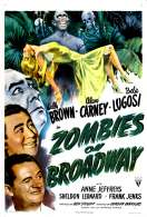 Affiche du film Zombies On Broadway