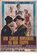 Affiche du film Don Camillo Monseigneur
