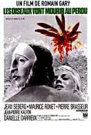 Affiche du film Les Oiseaux Vont Mourir Au Perou