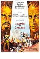 Affiche du film L'extase et l'agonie
