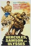 Affiche du film Hercule Samson et Ulysse