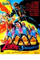 Zorro et les Trois Mousquetaires, le film