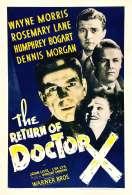 Le Retour du Docteur X, le film