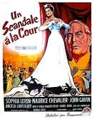Affiche du film Un Scandale a la Cour