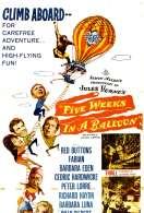 Affiche du film Cinq Semaines en Ballon