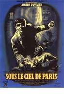 Affiche du film Sous le ciel de Paris