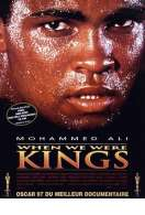 Affiche du film When we were kings