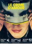 Affiche du film Le Crime d'amour