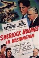 Affiche du film Sherlock Holmes � Washington