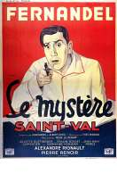 Affiche du film Le Mystere Saint Val