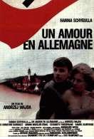 Affiche du film Un amour en Allemagne
