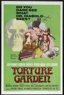 Affiche du film Le jardin des tortures
