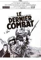 Affiche du film Le dernier combat